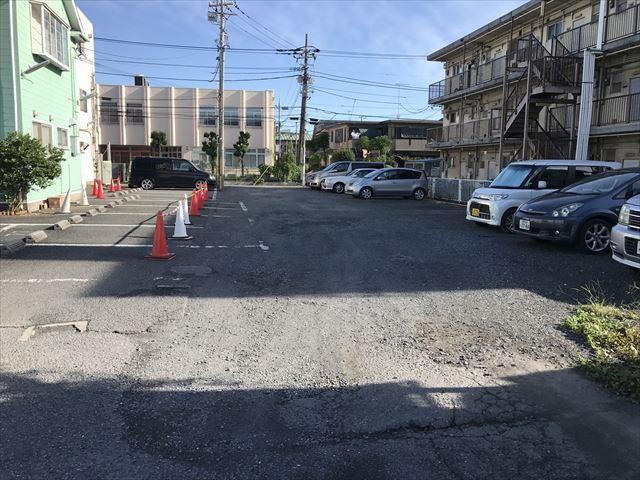 駐車場改修工事施工前_R