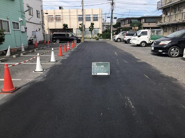 駐車場改修工事施工後_R